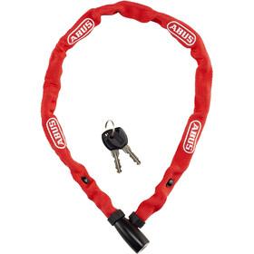 ABUS Web 1500/60 Łańcuch rowerowy z zamkiem, red
